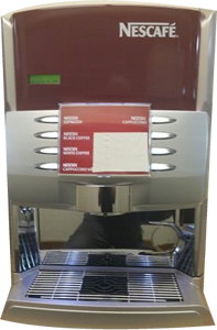 Allegra Counter Vending Machine