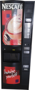 Luce Upright Vending Machine